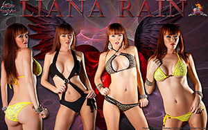 Liana Rain Wicked Wallpaper