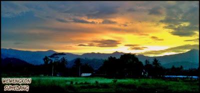 Senja di Kotakaler, Sumedang