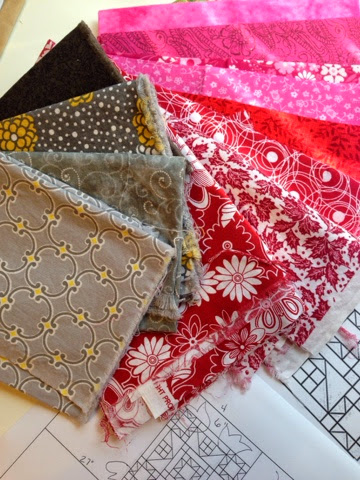 fabric for custom wall quilt