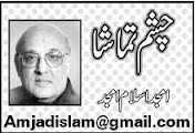 Amjad Islam Amjad Column - 29th September 2013