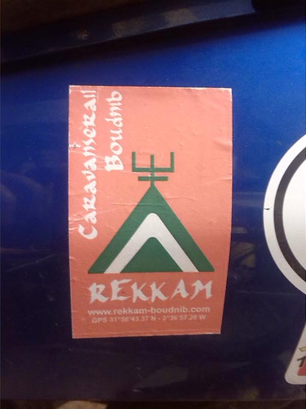 Rekkam sticker
