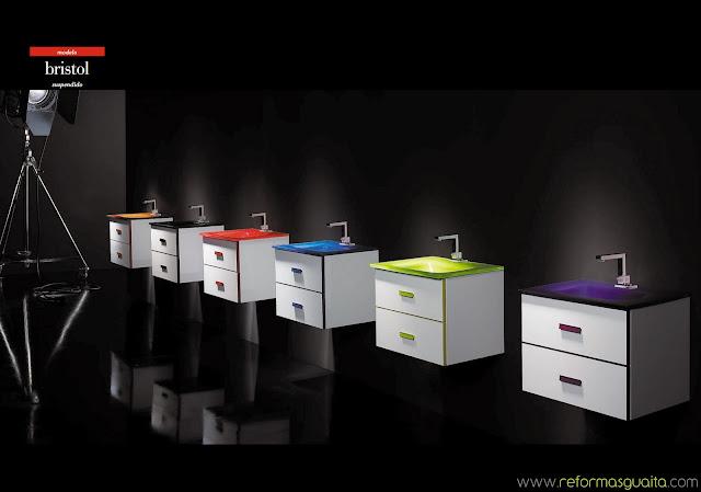 Bristol muebles de fondo reducido a 40 cms reformas guaita for Muebles de bano fondo reducido baratos