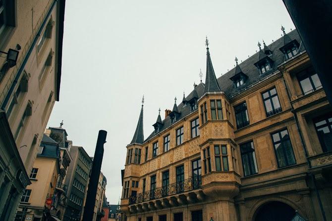 Luxemburg luxembourg stad Het paleis van de Groothertog van Luxemburg
