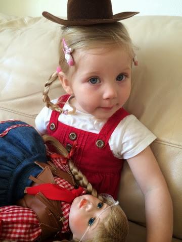 Maegan Darcie Clement - Cowgirl hair double plaits