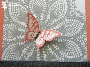 stampin up hello doily papillon potpourri
