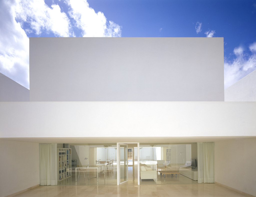 White box architecture modern design by for Architecture design of white house