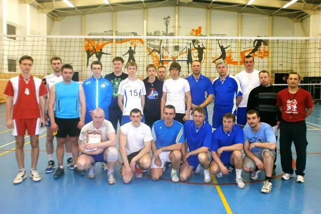 Первенство Углича по волейболу 2014: финал Реал - Ветерок-2