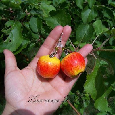 kwiatki ogród Panorama LeSage dzwoneczki tulipany wiśnia łubiny kaczeńce gruszki jabłka sad truskawki brzoskwinie kolczyki owocowe