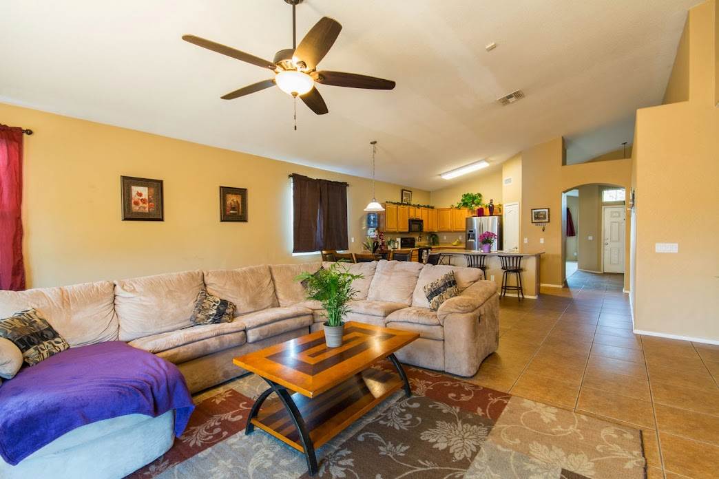 Family room view for Phoenix Home for Sale