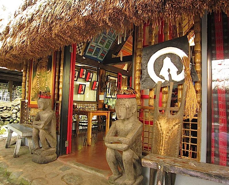 café in Tam-awan Village in Baguio City
