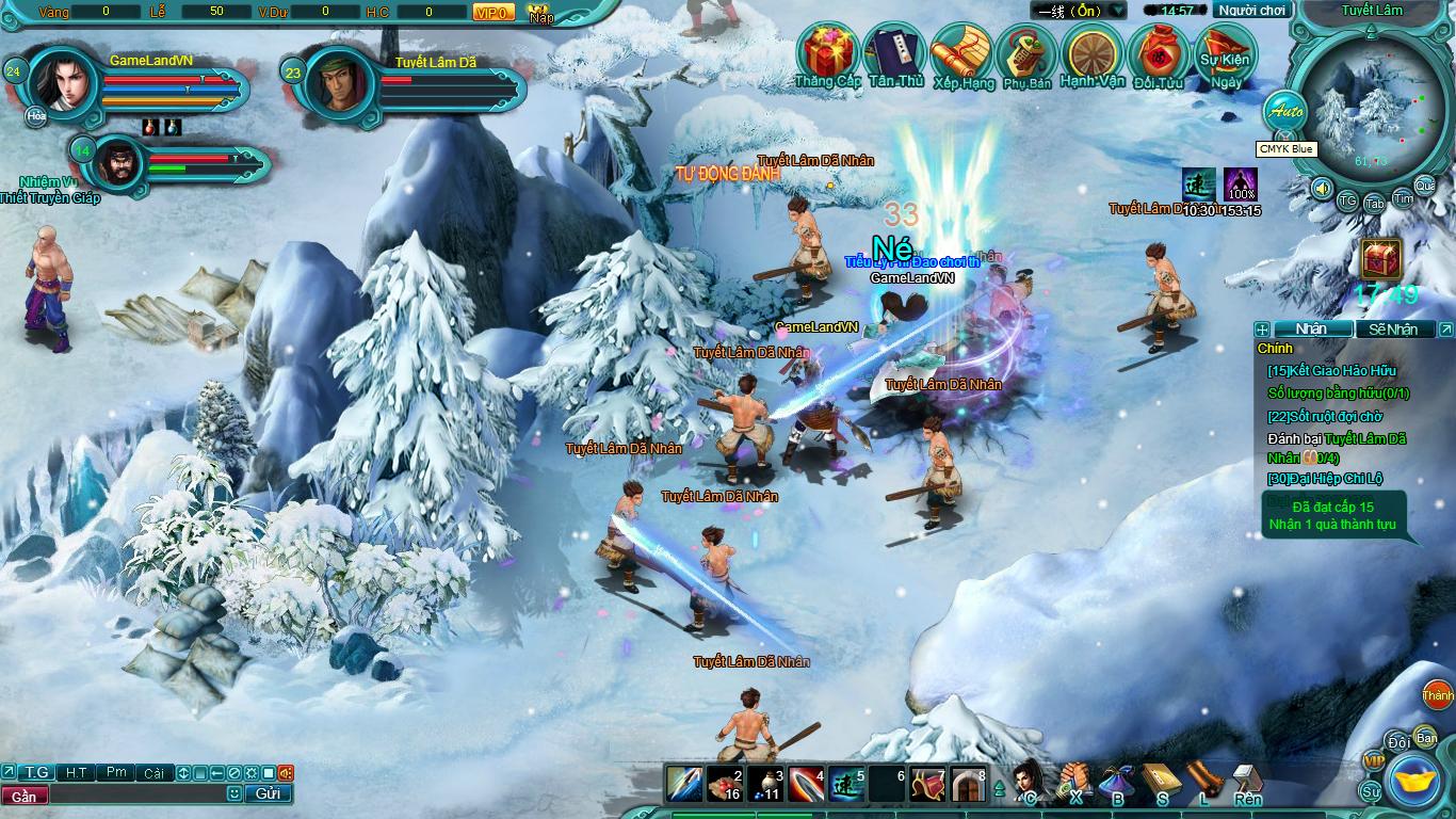 Hình ảnh thử nghiệm webgame Tiểu Lý Phi Đao - Ảnh 18