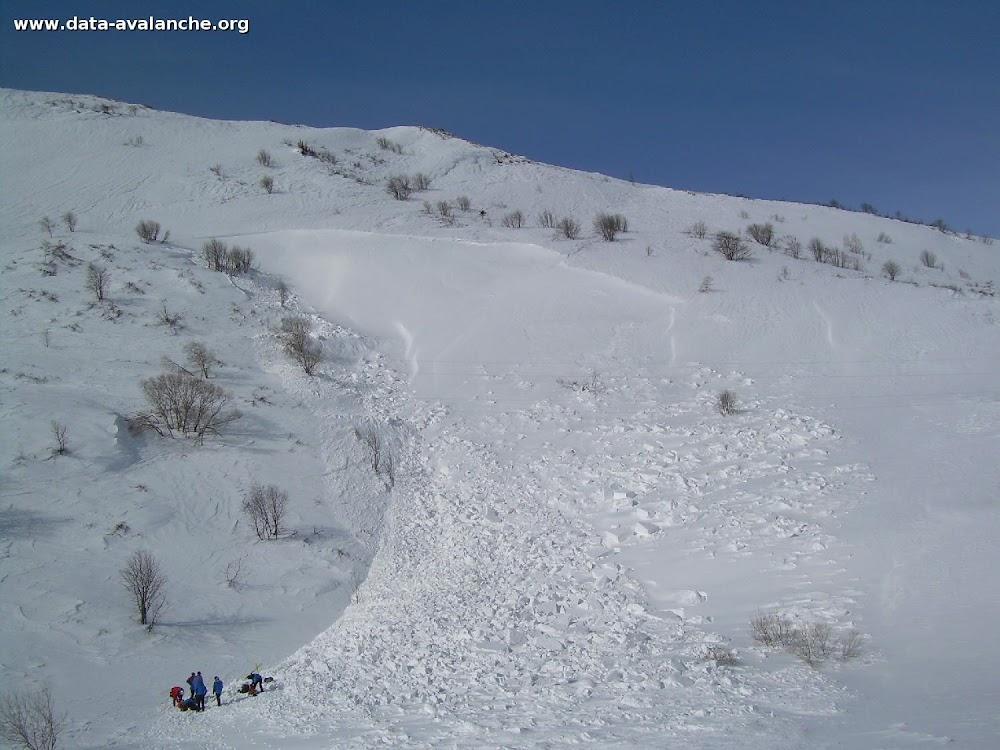 Avalanche Haute Maurienne, secteur Col du Mont Cenis, Sous la Roche Forée - Photo 1