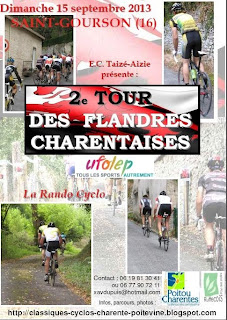 french village diaries cycling France Charente 2e Tour des Flandres Charentaises
