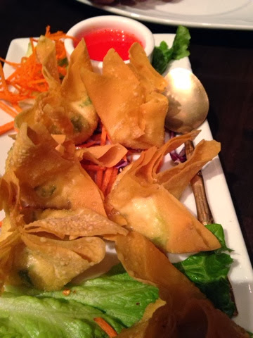 Crab Rangoon at Nicky's in Pittsburgh