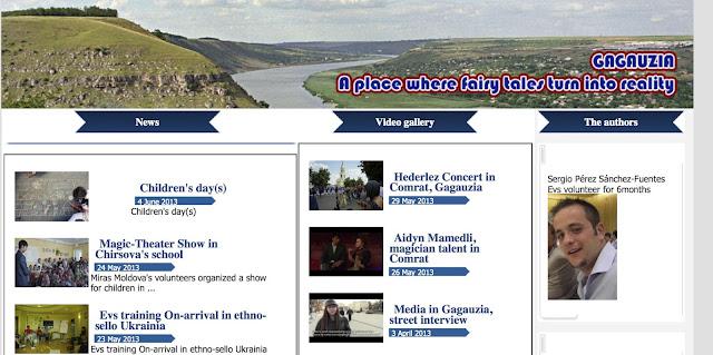 Evs Volunteers Reporter In Gagauzia Website