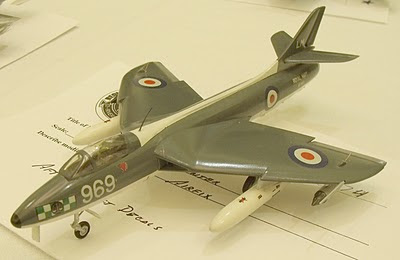 Hawker Hunter GA.11 model