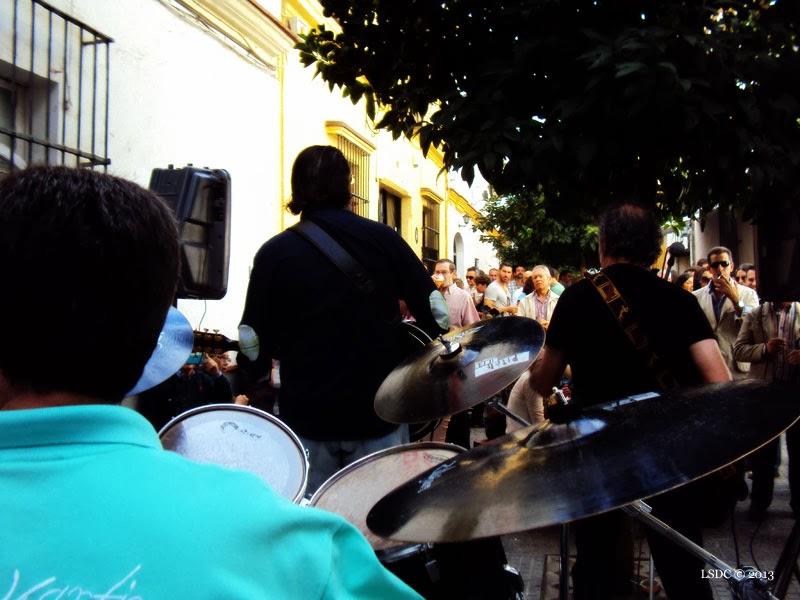 Concierto del grupo Solera en el Tabanco de San Pablo