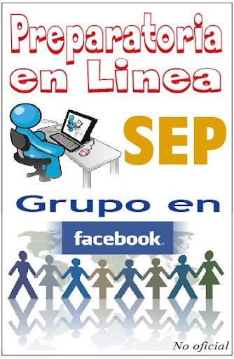 Grupo en Facebook no oficial de la Prepa en Linea SEP