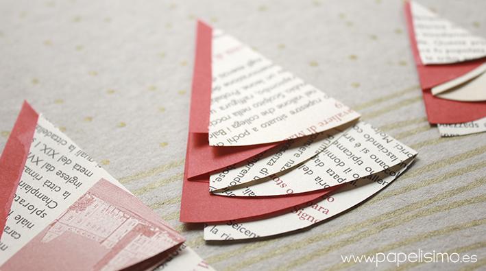 10 manualidades con papel para navidad manualidades - Tarjetas de navidad hechas por ninos ...