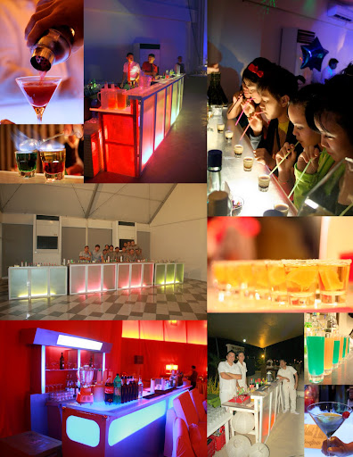 Event Shaker Mobile Bar