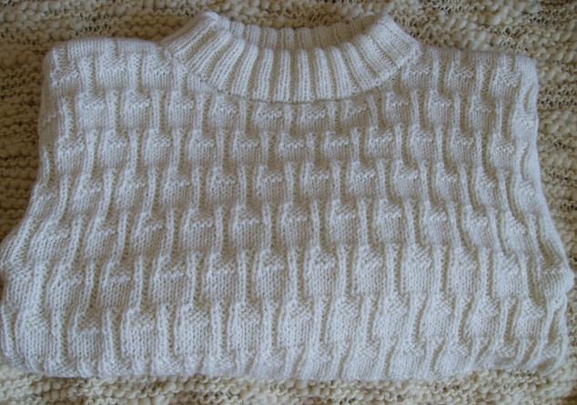 Шерстяной свитер с кашемиром