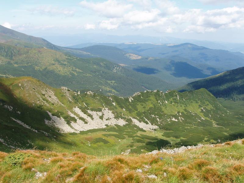 Черногорский хребет