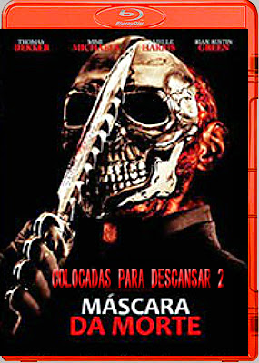 Filme Poster Colocadas para Descansar 2 - Máscara da Morte BDRip XviD Dual Audio & RMVB Dublado