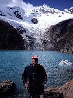 Icebergs at 3000m, Santa Cruz trek, PERU
