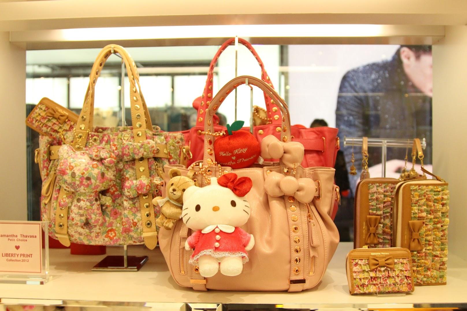 *Samantha Thavasa x Hello Kitty 艾咪包:耶誕大使王陽明挑起你的少女心! 7