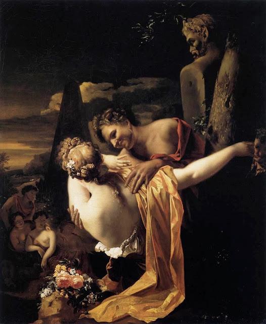 Adriaen van der Werff - Amorous Shepherds