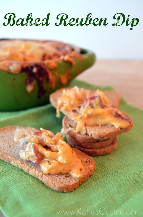 Baked Reuben Dip - Katie's Cucina