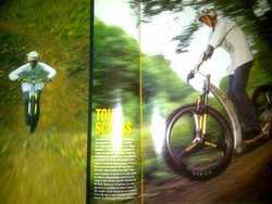 prototype de Trocyclette tout-terrain
