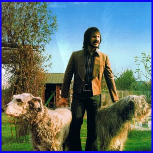 John Entwistle and two dogs