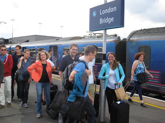 london bridge station platform