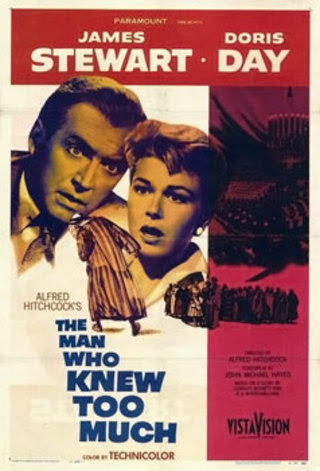 The Man Who Knew Too Much, 1956, Film Poster