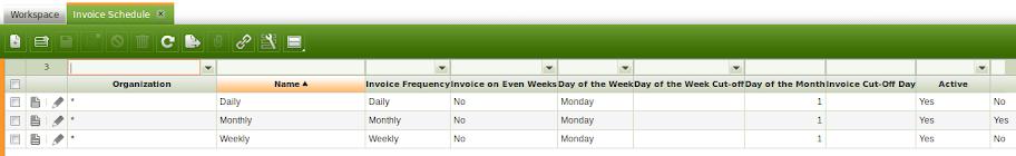 gambar jadwal penerbitan faktur yang otomatis ada karena openbravo configuration data | wirabumisoftware.com