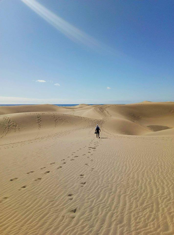 Дюны Маспаломаса, Гран-Канария, Канарские острова