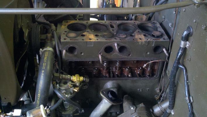Engine - head off