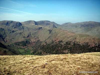 Looking towards Fairfield from Hartsop Dodd