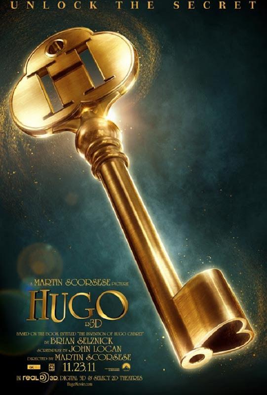 hugo poster xlarge Hugo, de Martin Scorsese   Poster e Trailer.