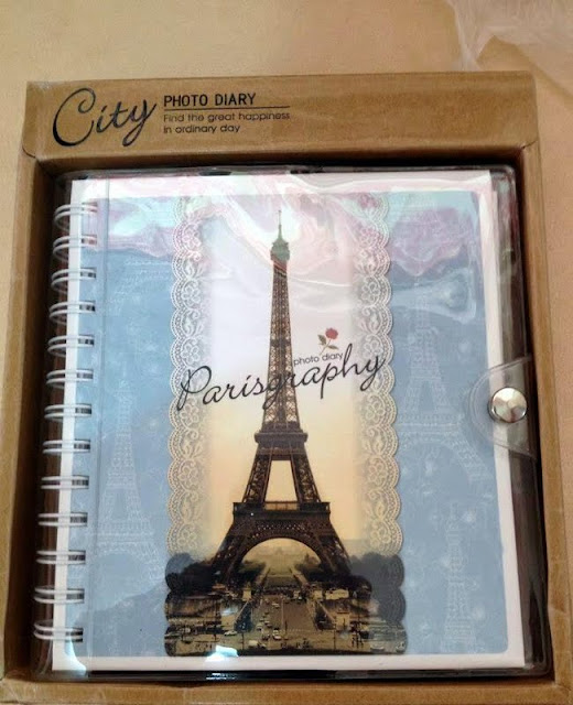 Paris and London Photodiary - Sketchbook, Doodlebook, Notebook, Stationery