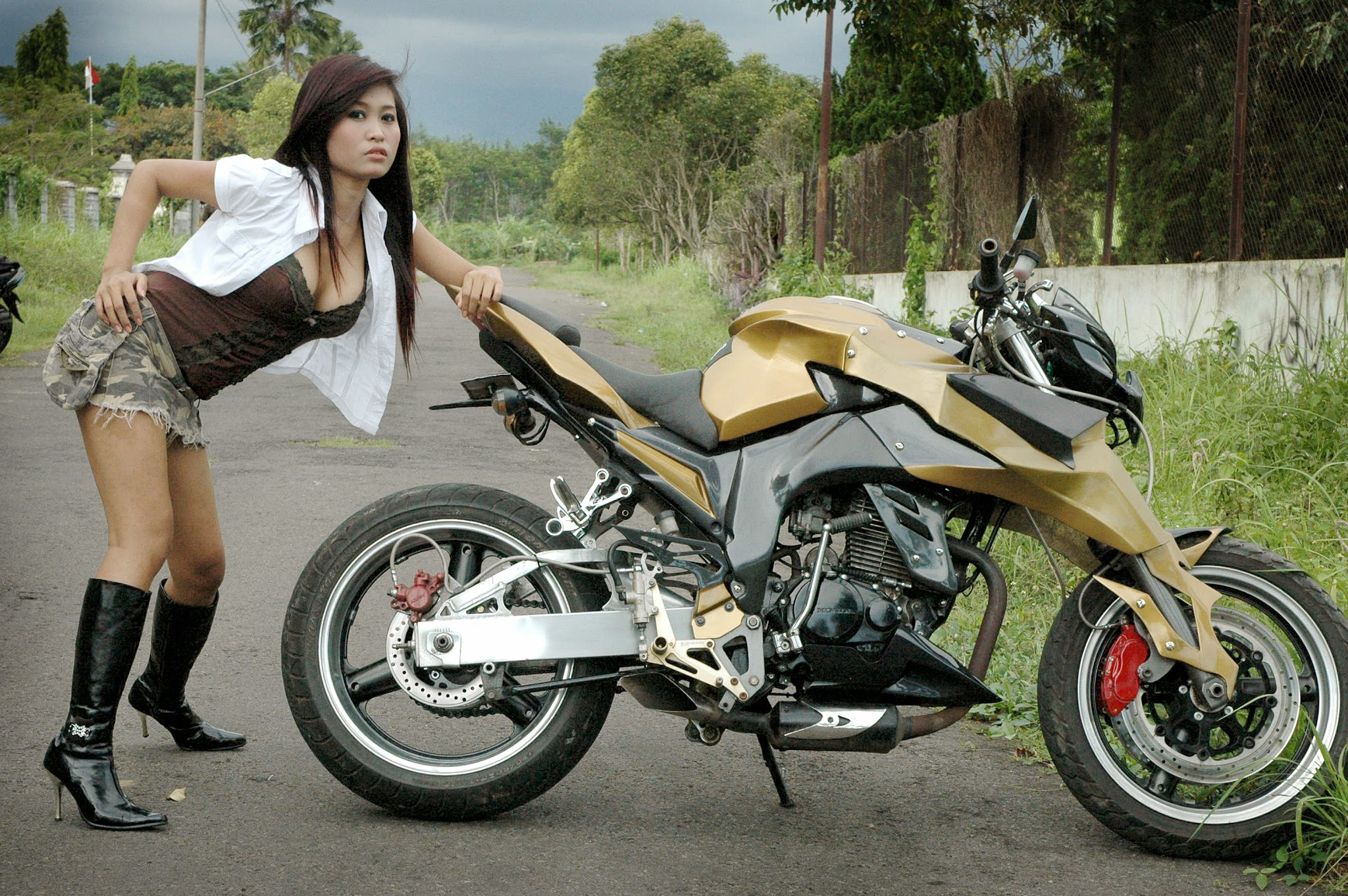 Honda Tiger Modif Trail