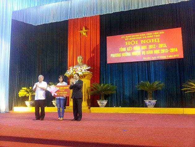 Hội nghị tổng kết năm học 2012-2013