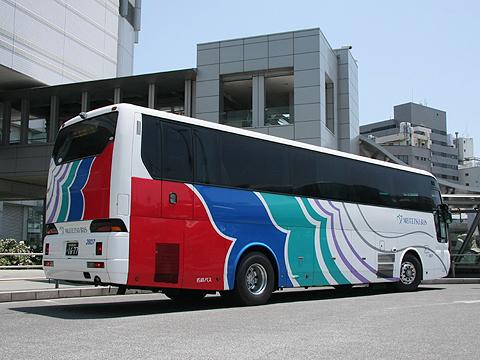 名鉄バス「さぬきエクスプレス名古屋号」 2607 リア