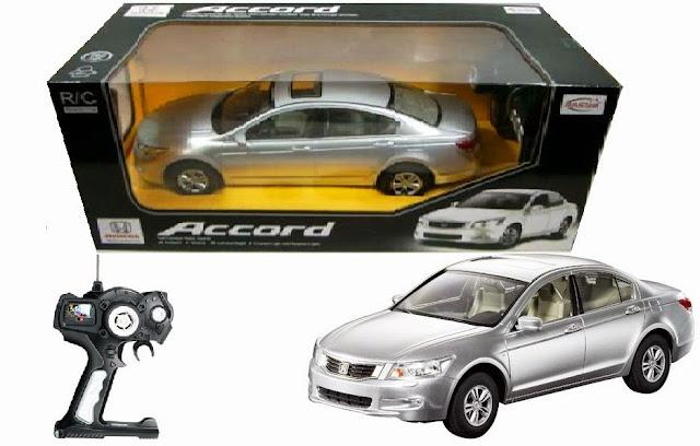 Mô hình xe ô tô Honda Accord điều khiển từ xa thật bổ ích và lý thú