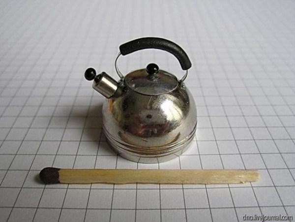 Умелец из Юрмалы и его маленькие вещи. 32 фото