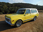 RARE 1972 CHEVY 2 WD BLAZER FULL CONVERTIBLE GREAT DRIVER CONDITION 350 350 DISC