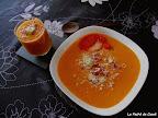 Crema de tomate y albahaca