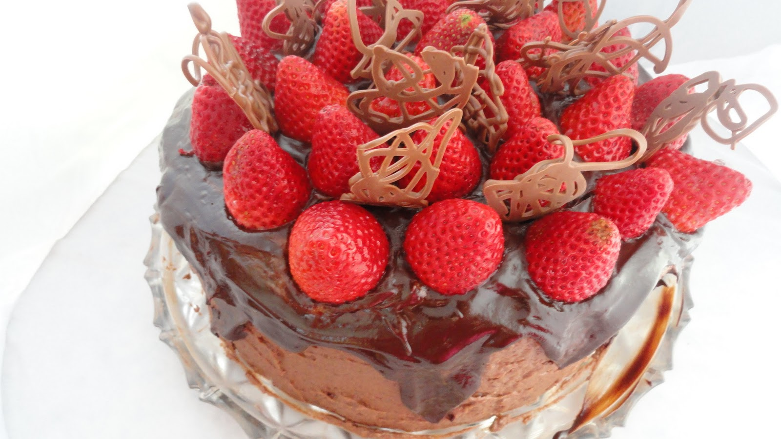 ... chocolate cake to devour on any day of the week- no celebration