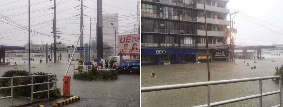 Mario Causes Flooding in Metro Manila with Pictures 19-09-2014-06
